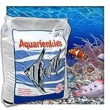 Aquariensand Aquariumsand Bodengrund 0,1-0,9 mm Aquarienkies hochrein Naturweiss 10 kg