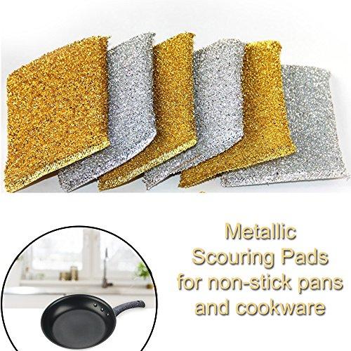 6pack-metlico-estropajo-set-heavy-duty-non-stick-catering-cocina-estropajo-esponja-almohadillas