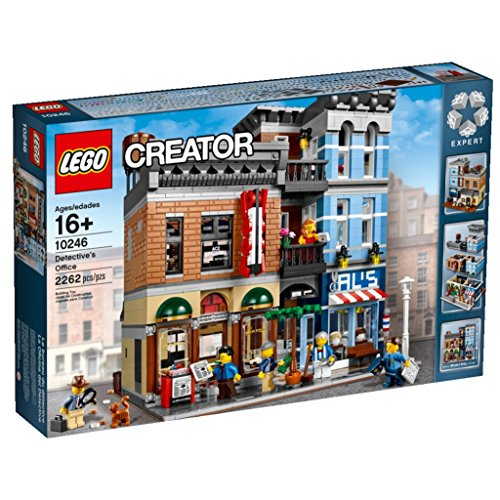 Lego Creator - 10246-Lego Creator Le Bureau du Détective