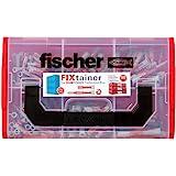 fischer 541105 Fixtainer – De DUOPOWER-dieptebeetbox, universele pluggen, 210-delig