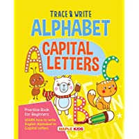 Alphabets Writing Book - Capital Letters (Practice)