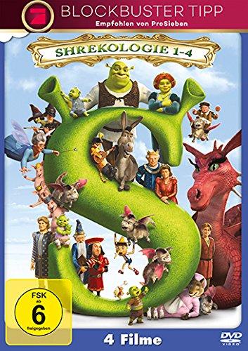 Shrek – Die komplette Geschichte, Teil 1-4 [4 DVDs]