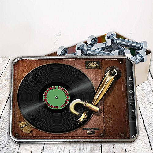 Personalised Vintage Record St782 Storage Tin smoking for sale  Delivered anywhere in UK