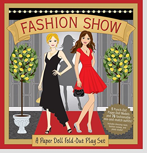 Fashion Show: A Paper Doll Fold-Out Play Set by Heather Zschock (21-Jul-2009) Hardcover