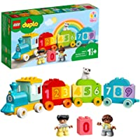 LEGO 10954 DUPLO Zahlenzug - Zählen lernen, Zug Spielzeug, Lernspielzeug für Kinder ab 1, 5 Jahren, Baby Spielzeug