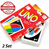 Generic Uno Playing Cards Game For Kids, Adults - 2 Set