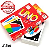 #10: Original UNO Playing Cards Game for Kids, Adults, Premium Quality, 2 Set