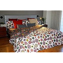 Funda nórdica Reversible con Mandalas estampadas (Para cama de 150x190/200 (Nórdico de 240)