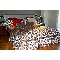 Funda nórdica Reversible Mandalas estampadas TIARA (Para cama de 150x190/200 (Nórdico de 240))
