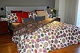 Funda nórdica Reversible Mandalas estampadas TIARA (Para cama de 90x190/200 (Nórdico de 150))