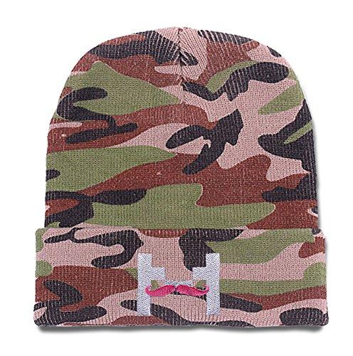 sianda-markiplier-warfstache-logo-camo-beanie-embroidery-camo-knit-cap-skull-hat
