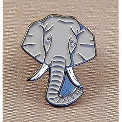 Esmalte Metálico Prendedor Pin Elefante (Bóxer & Marfil Colmillos) Dumbo Enorme Bump