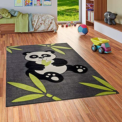 Kinder Spiel Teppich Savona Kids Pandabär, Größe:140x200 cm