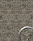 Wandpaneel Stein Optik WallFace 14804 LAVA Design selbstklebend stein-grau silber   2,60 qm