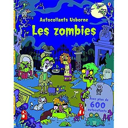 Les zombies - Autocollants Usborne
