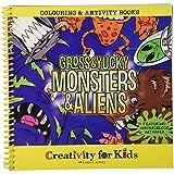 Creativity for Kids - Artivity Book Gross and Yucky Monsters