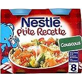 Nestlé p'tite recette couscous 2x200g dès 8 mois - ( Prix Unitaire ) - Envoi Rapide Et Soignée
