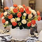Simulation Bouquet Blume Anordnung Wohnzimmer Schlafzimmer Esstisch Couchtisch Blume Dekoration vergossen Ornamente, K