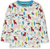Kite Ice Animals T-Shirt, Maglietta a Manica Lunga Bimba, Multicoloured (Multi), 2 Mesi