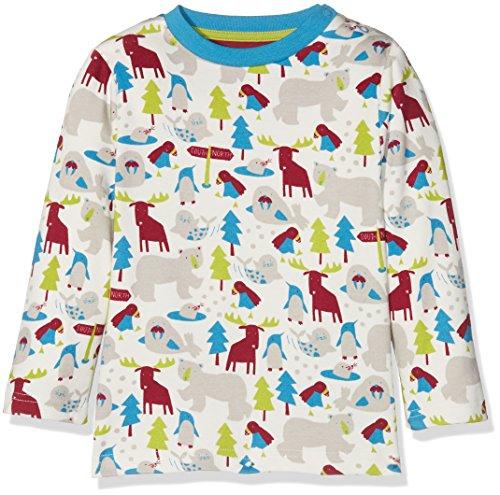 Kite Kite Baby-Jungen Langarmshirt Ice Animals T-Shirt Multicoloured (Multi), 6-12 Monate