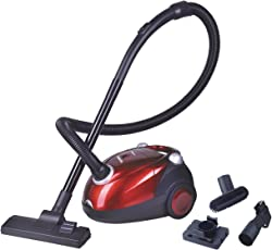 Inalsa Spruce 1200-Watt Dry Vacuum Cleaner (Red/Black)
