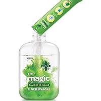 Godrej Protekt Mr. Magic Powder-to-Liquid Handwash Refill, Pack of 3 (makes 200ml each)