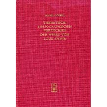 Thematisch-bibliographisches Verzeichnis der Werke von Louis Spohr