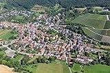 MF Matthias Friedel - Luftbildfotografie Luftbild von Häfnerstraße in Sachsenheim (Ludwigsburg), aufgenommen am 06.08.09 um 12:29 Uhr, Bildnummer: 5436-68, Auflösung: 6048x4032px = 24MP - Fotoabzug 50x75cm