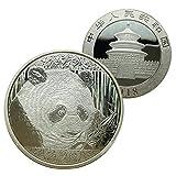 Gaeruite Chinese Panda Münzen Gedenkmünzen für Sammlung