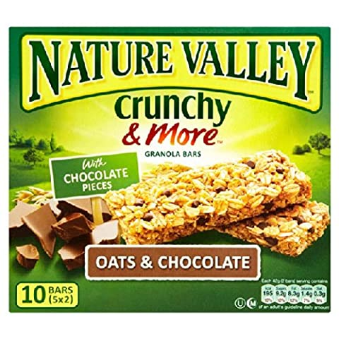 Nature Valley Crunchy Granola Bars Oats & Chocolate 5 x 42g