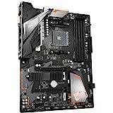 Gigabyte Technology Placa B450 AORUS Elite V2,AMD,AM4,B450,4DDR4,128GB,DVI HDMI,GBLAN,6SATA3,2XM.2,6USB3.1,ATX