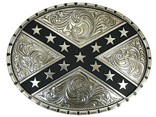 Nocona Rebel Round Gürtelschnalle Western Buckle Cowboy USA