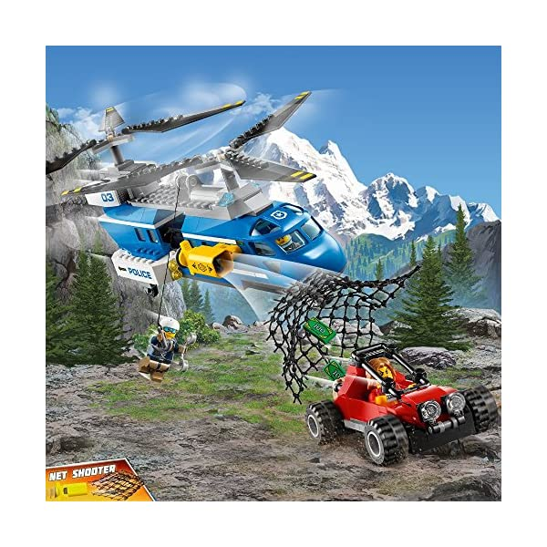 LEGO- City PoliceArresto in Montagna, Multicolore, 60173 3 spesavip