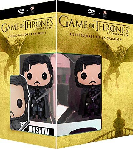 Preisvergleich Produktbild Game of Thrones - Die komplette 5. Staffel - Limited Edition Funko [5 DVDs] [EU-Import mit Deutscher Sprache]