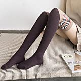 UMCCY Socks_Autunno e Inverno Nuovo Lana Sexy su gambaletti, Lunga Canna Calze