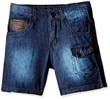 Gini and Jony Boys' Shorts (121207522794 5000_Blue_7 - 8 years) best price on Amazon @ Rs. 499