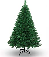 Newin Star 180cm Künstlicher Weihnachtsbaum Tannenbaum Christbaum mit ca. 750 Astspitzen inklusive Christbaumständer, grün