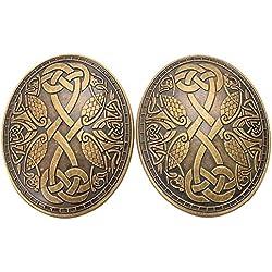 GRACEART Medieval Vikingo Broche (1 X par)
