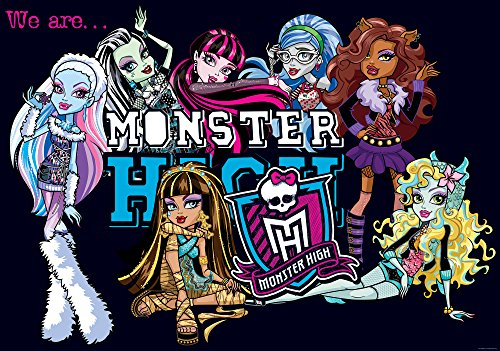 Neueste Monster High - Olimpia Design 982P8 Fototapete Photomural Monster