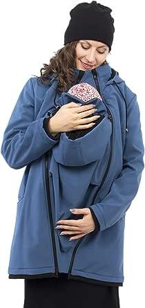Viva la Mama – Allwetter Funktionsjacke für Mama und Baby, Umstandsjacke + Tragejacke - MELLORY