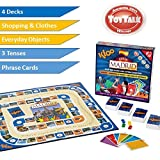 KLOOs Learn to Speak Spanish Language Board Game - Race to Madrid