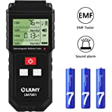 Electromagnetic Field Radiation Detector / EMF Meter, LIUMY Handheld Mini Digital LCD EMF Detector Dosimeter Tester Counter, Magnetic Field Radiation Detection Radiation Alarm(Batteries Included)