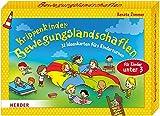 Krippenkinder - Bewegungslandschaften: 32 Ideenkarten fürs Kinderturnen