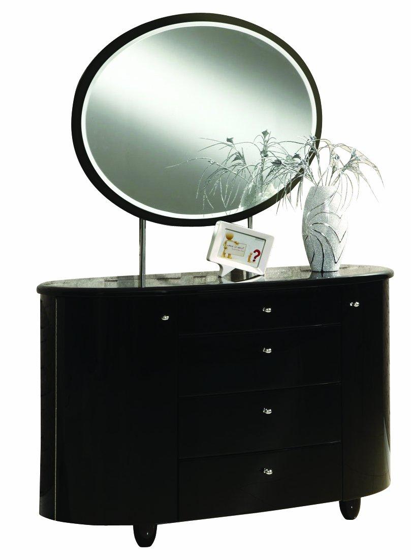 birlea aztec drawer highgloss dresser  mirror set black  - birlea aztec drawer highgloss dresser  mirror set black amazoncoukkitchen  home