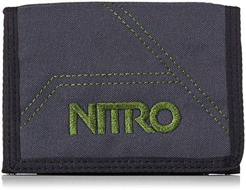 Nitro Wallet, Geldbörse, Geldbeutel, Portemonnaie, Münzbörse,  Pirate Black,  10 x 14 x 1 cm, 1131-878000_1958, 60g