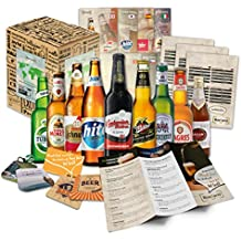 """""""9 Especialidades de cerveza del Mundo"""" Colección de las más famosas variedades de cerveza. Una de las mejores ideas de regalo para hombres (Cumpleaños, Navidades, Reyes, Aniversario)"""