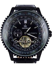 ORKINA ORK0231 - Reloj , correa de cuero color negro