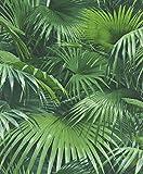 Rasch Tapeten VliesTapete Kollektion Crispy Paper, grün, 524901