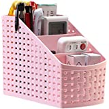 Kash-Vi Plastic Storage Box Desktop 4 Grid Sub-Grid Storage Case Multi-Function Storage Organizer