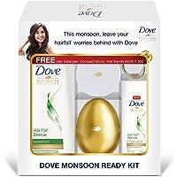 Dove Hair Fall Rescue Shampoo 340 ml + Conditioner 80 ml (Monsoon Ready Kit)